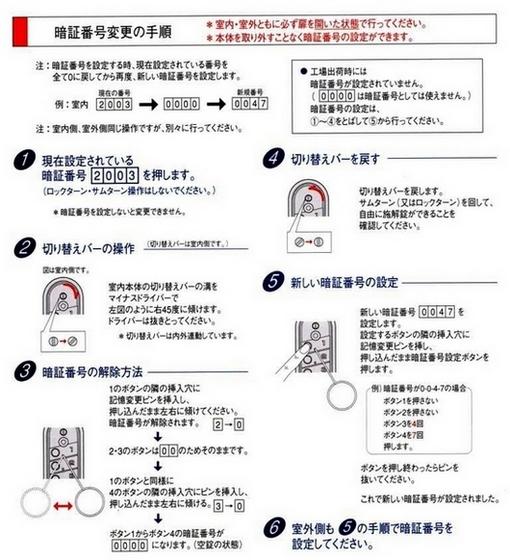 キーレックス047(長沢製作所)面付本締錠