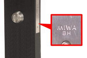MIWA,美和ロック U9BH(DZ、LD,LDSP)2個同一シリンダー