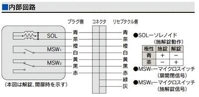 MIWA,美和ロック U9ANS51-1型  シルバー色