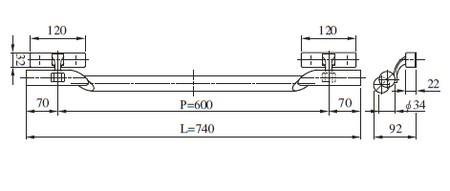 美和ロック,MIWA PPL T3053Aプッシュプル錠