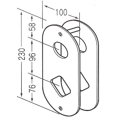 美和ロック,MIWA EA100-(1,2,3型)
