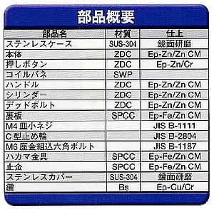 Geo Prince,ジョープリンス竹下 PH-95K(95)-SUSステンレス丸型平面ハンドル